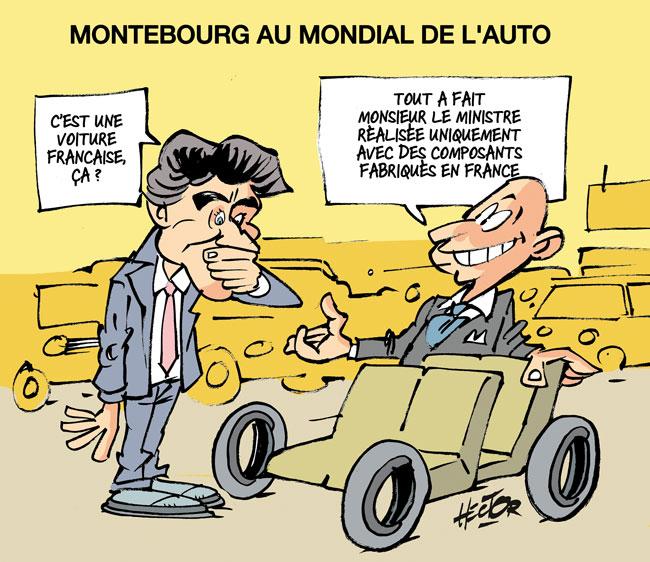 Mondial de l 39 auto fran aise selon montebourg le blog for Salon de l auto billet