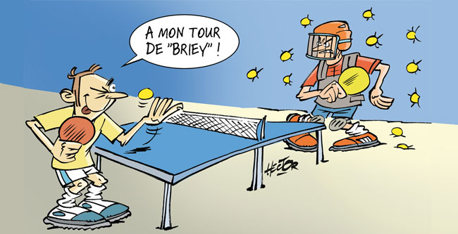 Le dessin de la semaine en meurthe et moselle le blog de - Dessin tennis de table ...