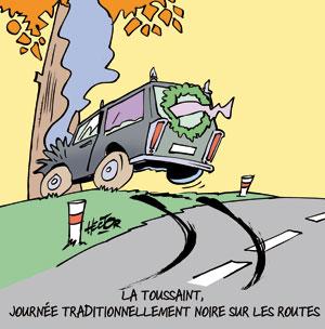Routes dangereuses à la Toussaint - Le blog de Régis ...