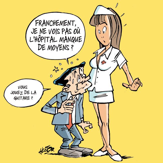 bande dessinee infirmiere